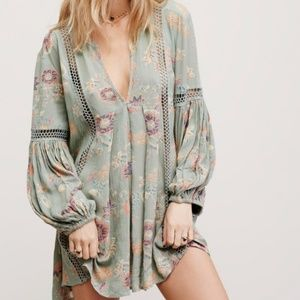 Free People Just The Two Of Us Babydoll Tunic XS